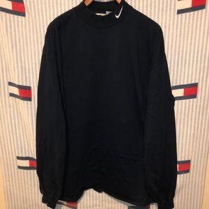 Vintage Nike mock neck long sleeve shirt